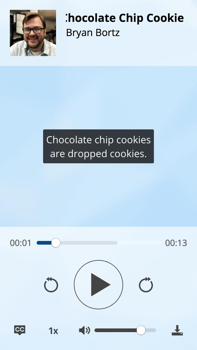 Main UI Single Track