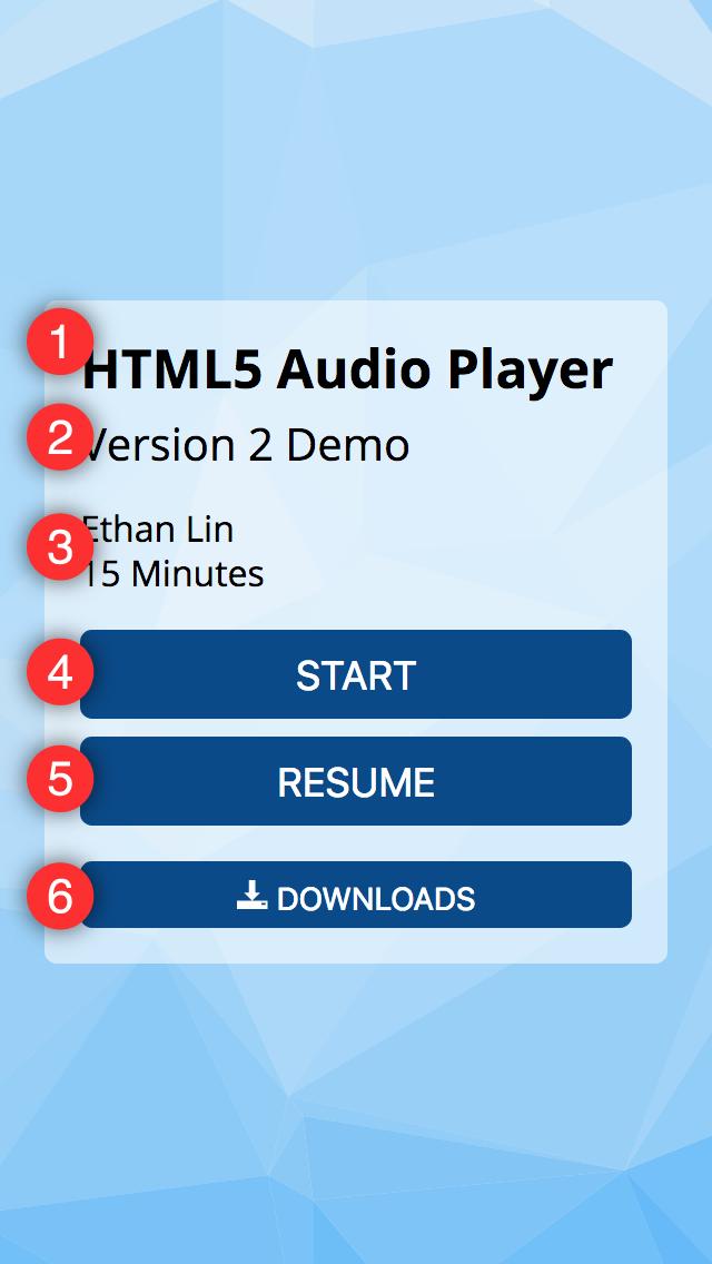 Main UI tracks expanded