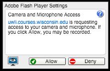Flash - Hardware access permissions
