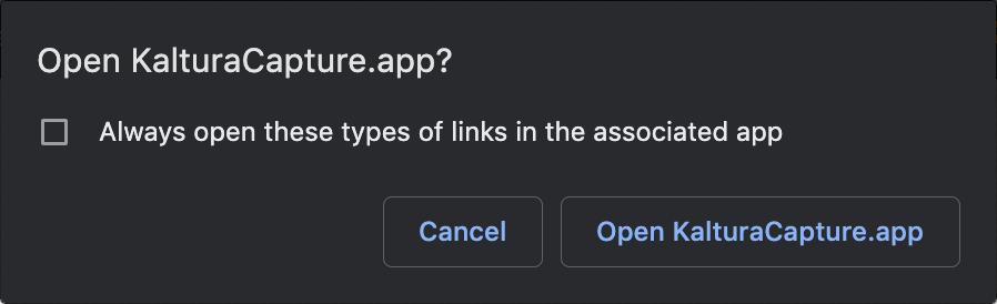 open app prompt